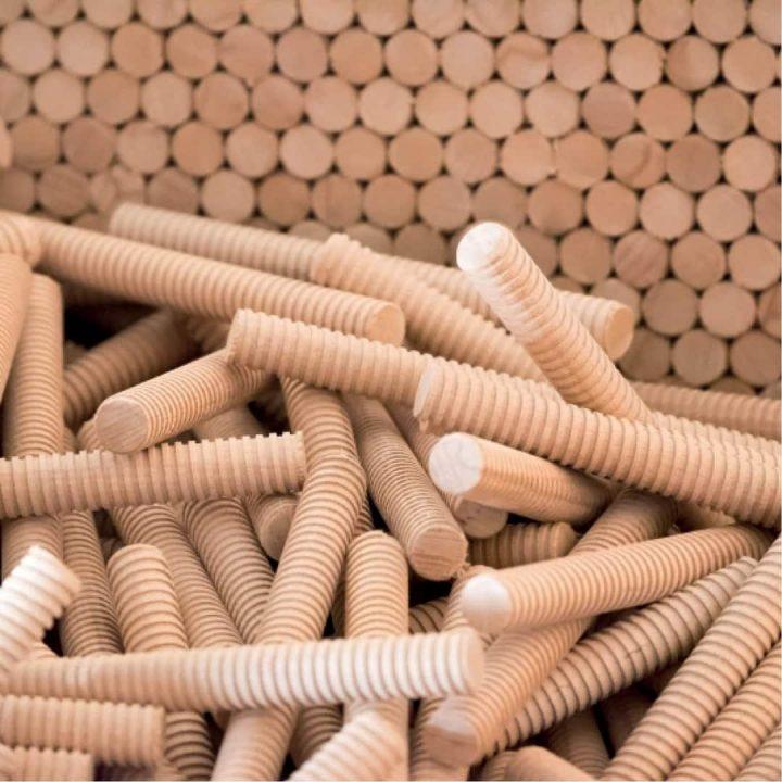 Nur Holz bouwen zonder lijm