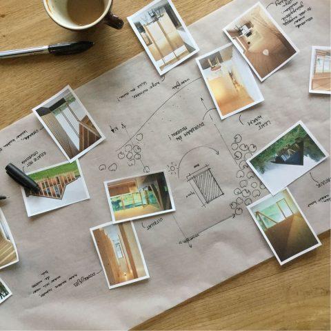 Schetsgesprek en verkenning houten woning laten bouwen